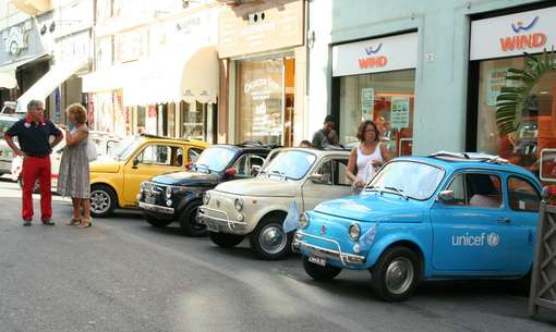 Raduno Fiat 500 Golfo Dianese