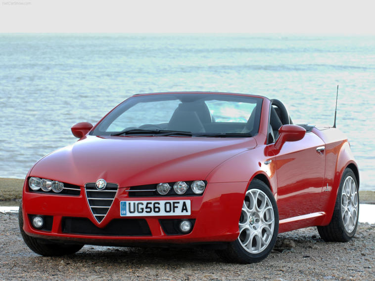 Alfa Romeo Spider Mazda MX-5