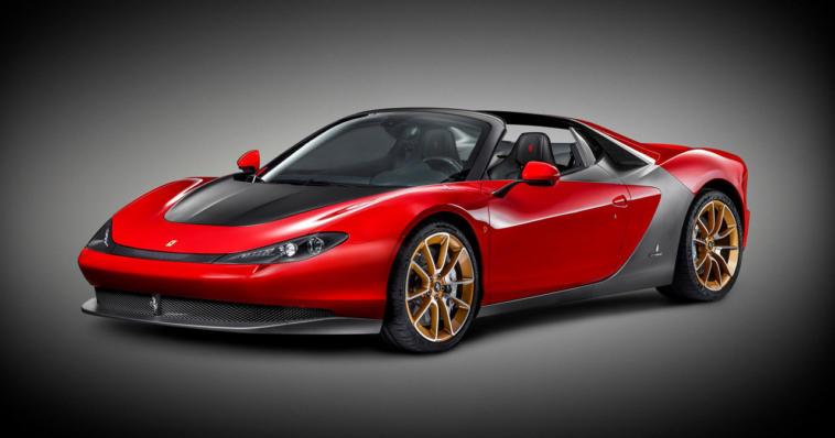 Ferrari Sergio, una Spider davvero speciale
