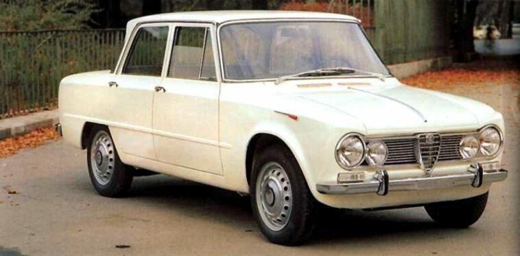 La Giulia TI Alfa Romeo