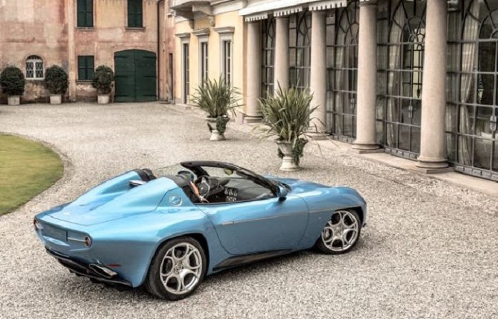 Alfa Romeo Disco Volante by Touring