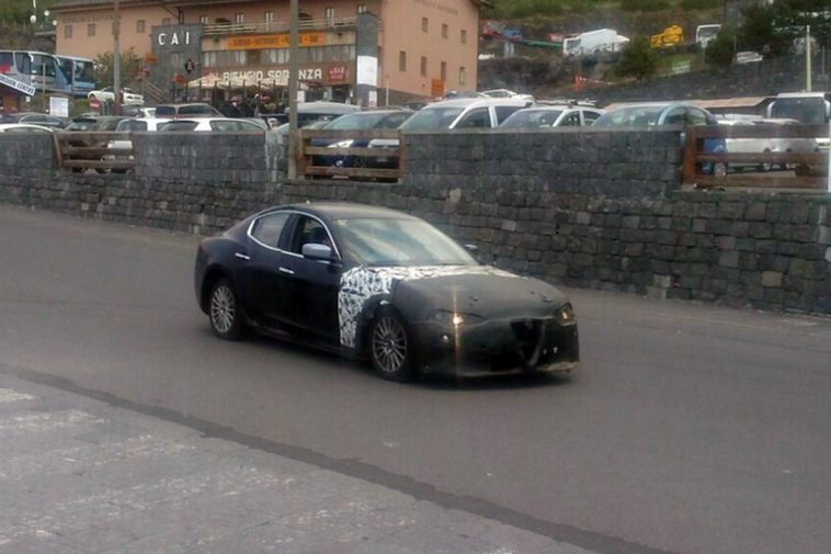 Alfa Romeo Ammiraglia 2018