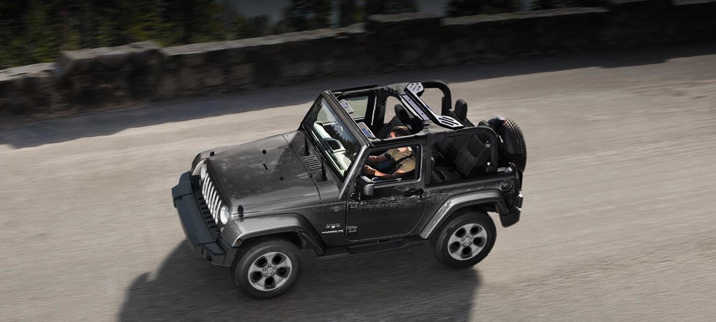 Jeep Wrangler elettrica