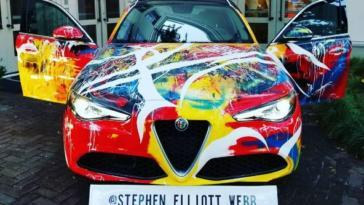 Alfa-Romeo-Giulia art car