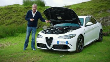 Jeremy Clarkson in Italia Foto Giulia QV