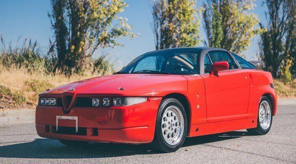 Alfa Romeo SZ del 1991 asta